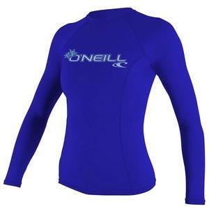 Oneill Basic Skins Long Sleeve Crew Rashguard S XS